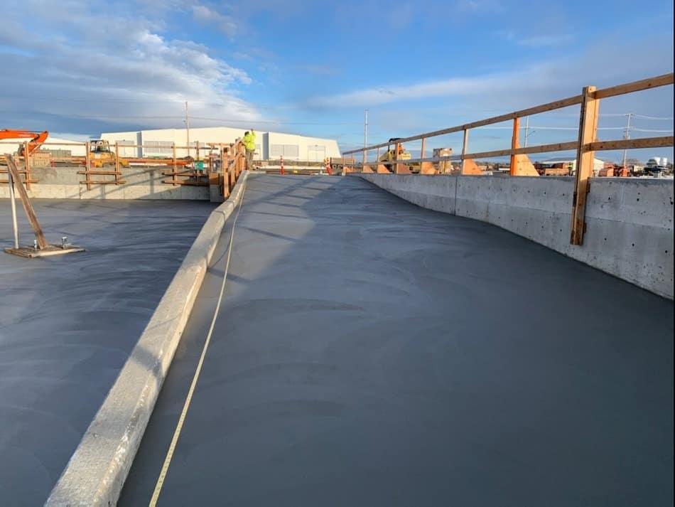 Concrete slab on grade
